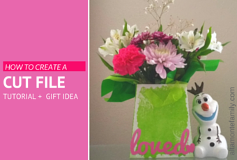how to create your own digital cut file for free using cricut explore air for valentines day mothers day