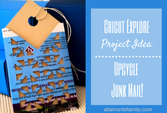 Cricut-Explore-Air-Upcycled-Junk-Mail-Gift-Tag-Project-Idea