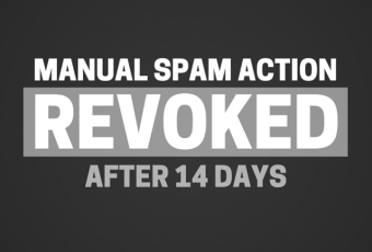 Manual Spam Action Revoked After 14 Days: Recovering From Google Penalties (Part 2)