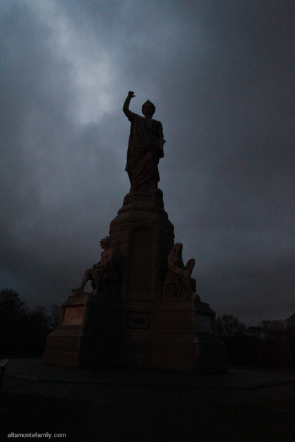 National Monument to our Forefathers-Plymouth Massachussetts-Dark Skies