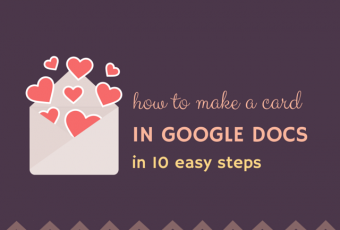 How To Create A Card In Google Docs In 10 Steps