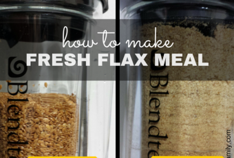 How To Make Fresh Flax Meal Using The Blendtec