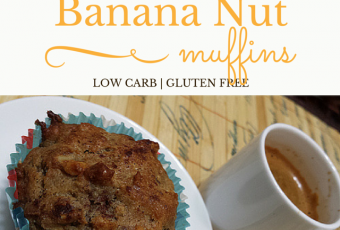 Low-Carb Gluten-Free Breakfast Recipe: Banana Nut Muffins