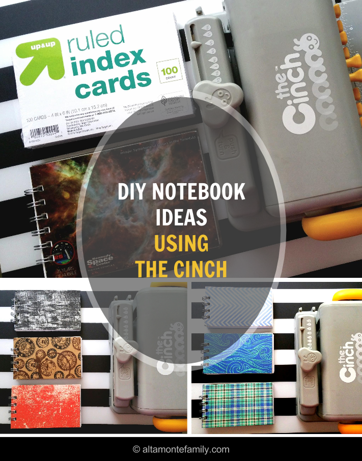 DIY Notebook Project Ideas Using We R Memory Keepers Cinch Bookbinding Tool