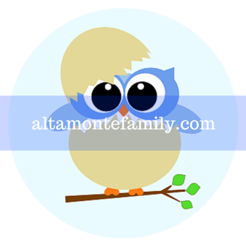 image regarding Owl Printable identified as Totally free Printable Little one Owl Labels Altamonte Family members
