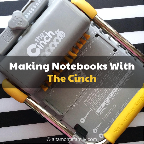 Making Notebooks With We R Memory Keepers Cinch