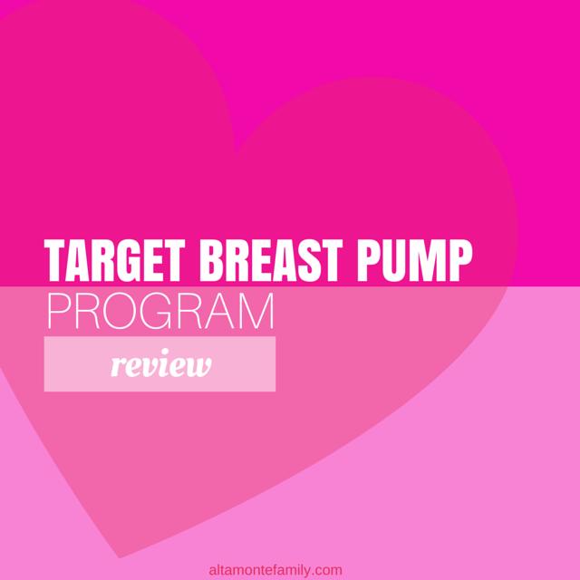 Target Breast Pump Program Review