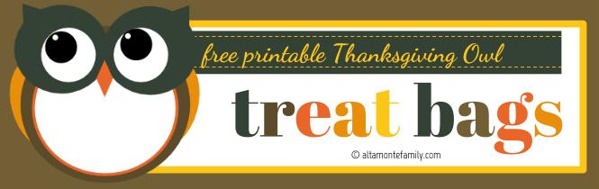 Free Printable Thanksgiving Owl Treat Bags_Autumn Blue