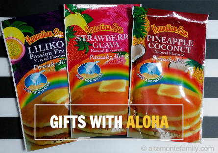 Hawaiian Sun Pancake Mix - gift ideas from hawaii - Altamonte Family