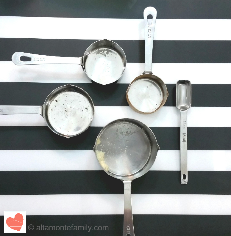 Easy To Clean Stainless Steel Measuring Cups and Spoons
