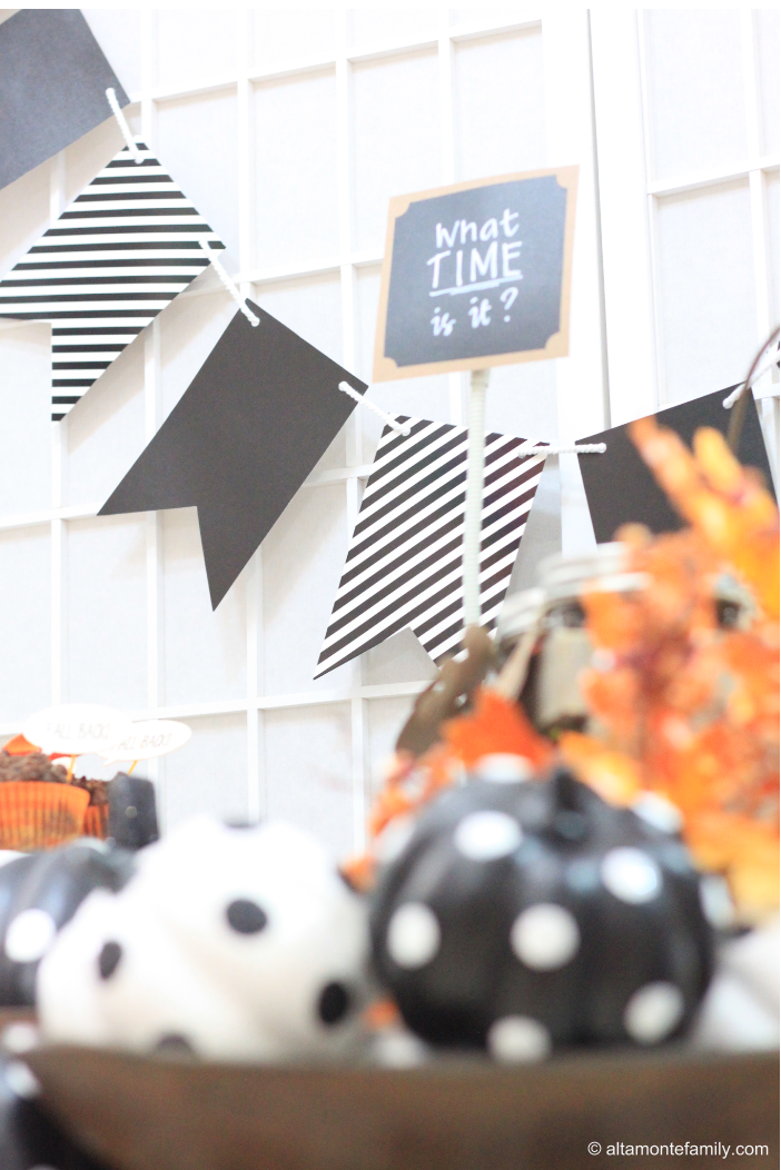 Fall Back Time Change Party Ideas