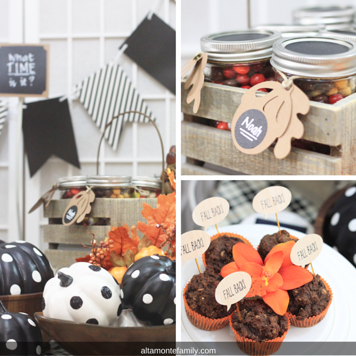 Fall Party Favor and Snack Ideas