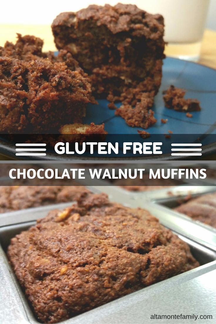 Gluten-Free Chocolate Walnut Muffin Recipe   Altamonte Family