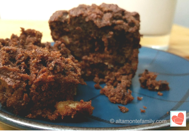 Gluten Free Chocolate Walnut Muffins Made With Almond Flour