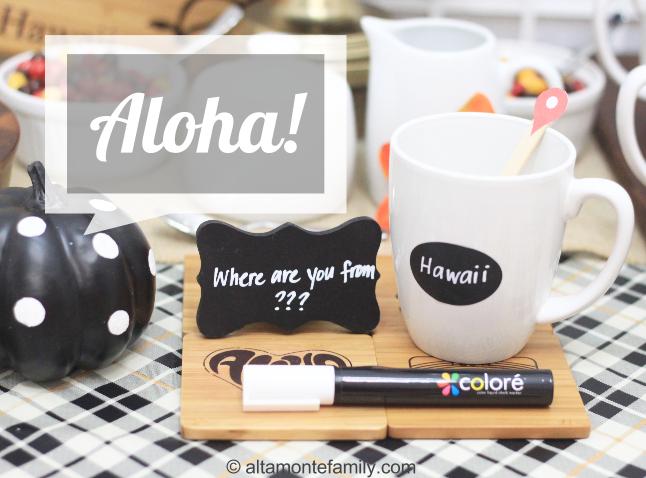 Hawaiian-Style Coffee Social