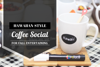 Fall Entertaining: Hawaiian-Style Coffee Social