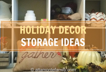 How To Organize Your Fall Decorations Ahead Of Time