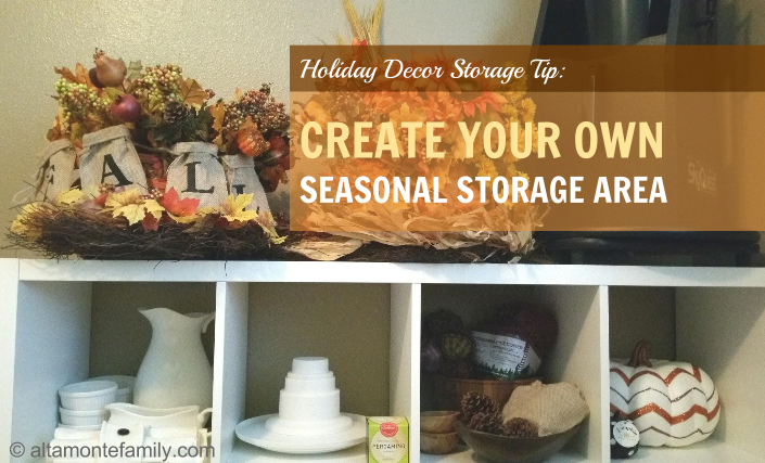 How To Organize Your Fall Decorations Ahead Of Time ...