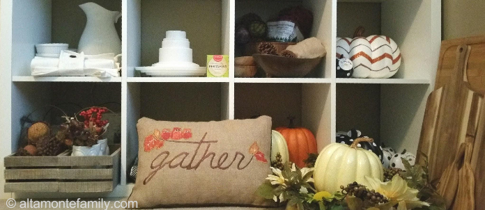 How To Organize Fall Decorations