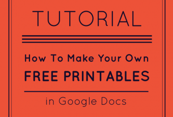 How To Make Free Printables In Google Docs