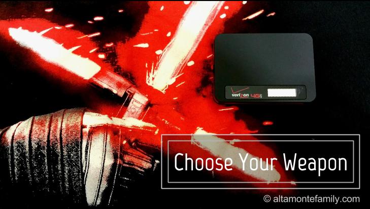 Choose Your Weapon - Internet Access On The Go - Verizon Ellipsis Jetpack Mobile Hotspot