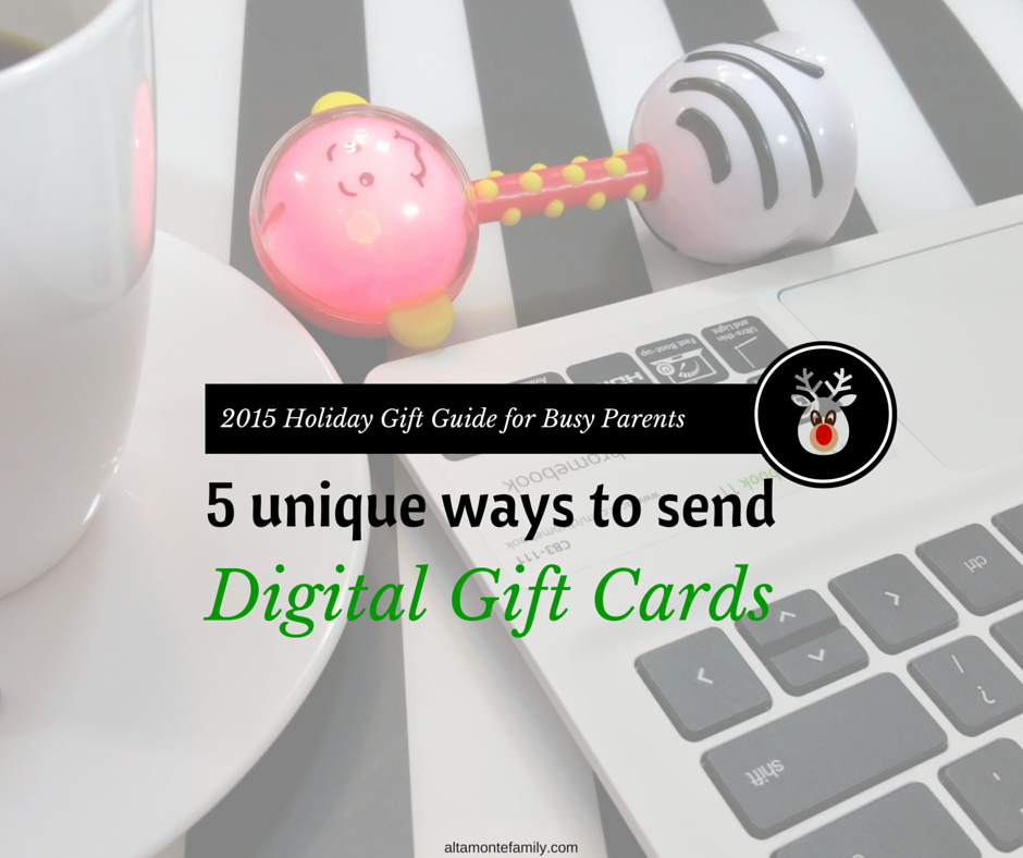 5 Unique Ways To Send Digital Gift Cards