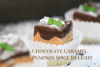 Fall Recipe: Chocolate Caramel Pumpkin Spice Delight