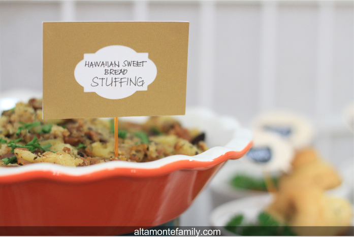 Hawaiian Sweet Bread Stuffing Recipe
