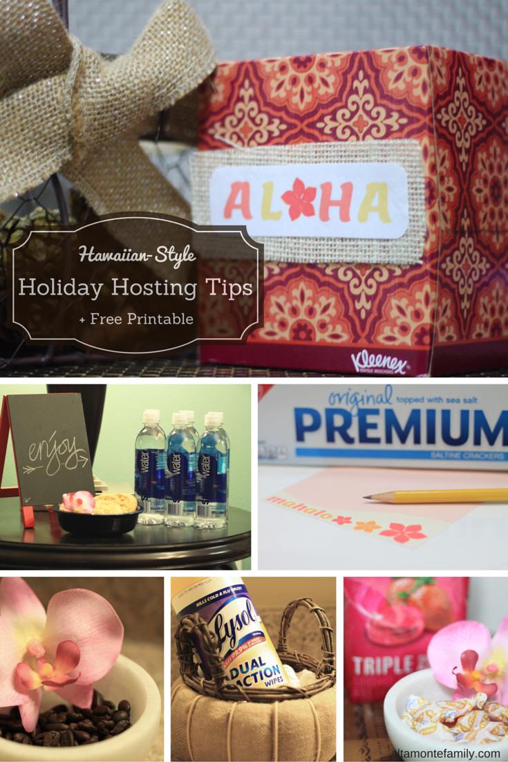 Holiday Hosting Hawaiian Style #PreparedWithCVS #CollectiveBias