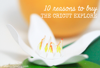 Gift Idea: 10 Reasons To Buy The Cricut Explore Air
