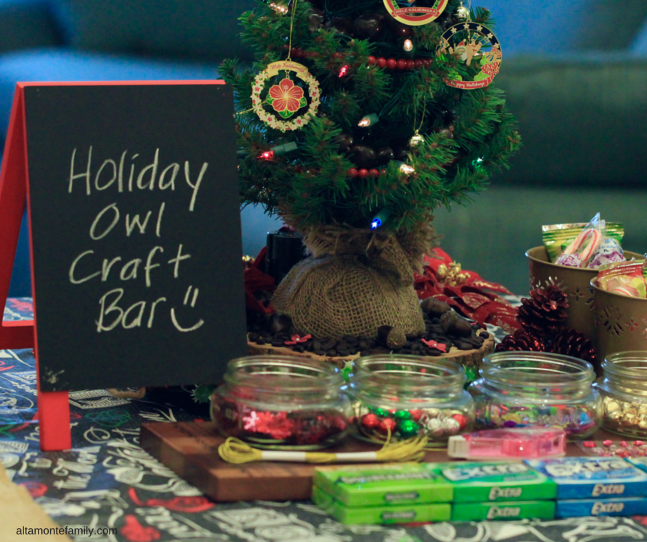 DIY Holiday Owl Craft Bar and Gift Ideas