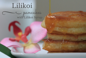 Breakfast In Bed Idea: Lilikoi Pancakes