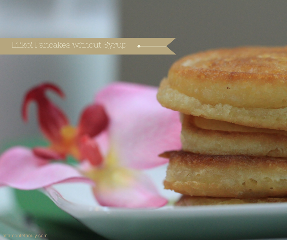 Lilikoi Pancakes - one of our Hawaii faves
