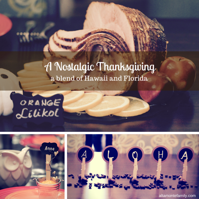 Nostalgic Thanksgiving Tablescape