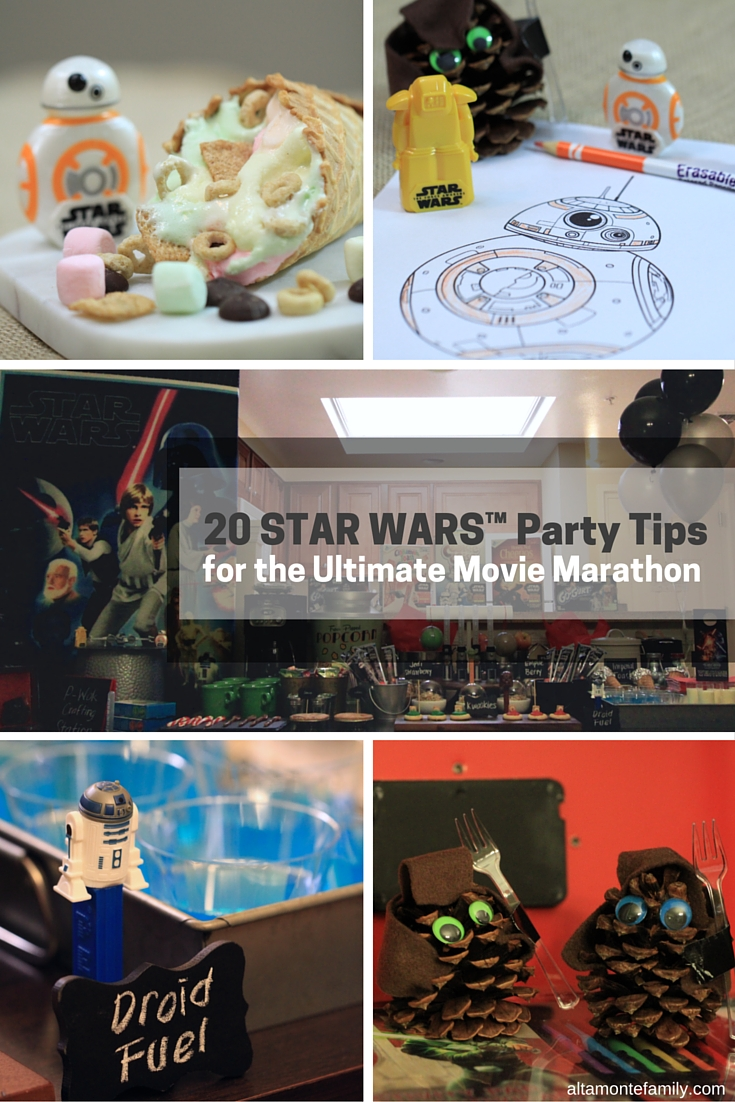 Star Wars Movie Marathon Party Tips