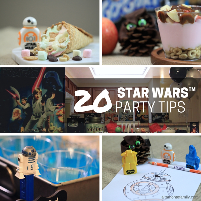 20 Star Wars Party Tips
