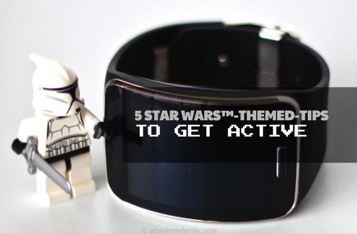 5 Star Wars Themed Tips To Get Active