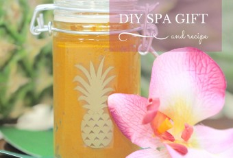 DIY Spa Gift + 2-Ingredient Eye Mask Recipe