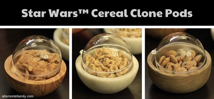 Star Wars Cereal Clone Pods