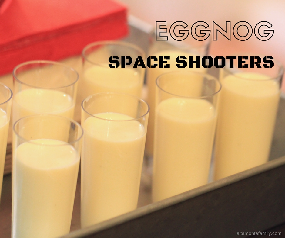 Star Wars Eggnog Space Shooters
