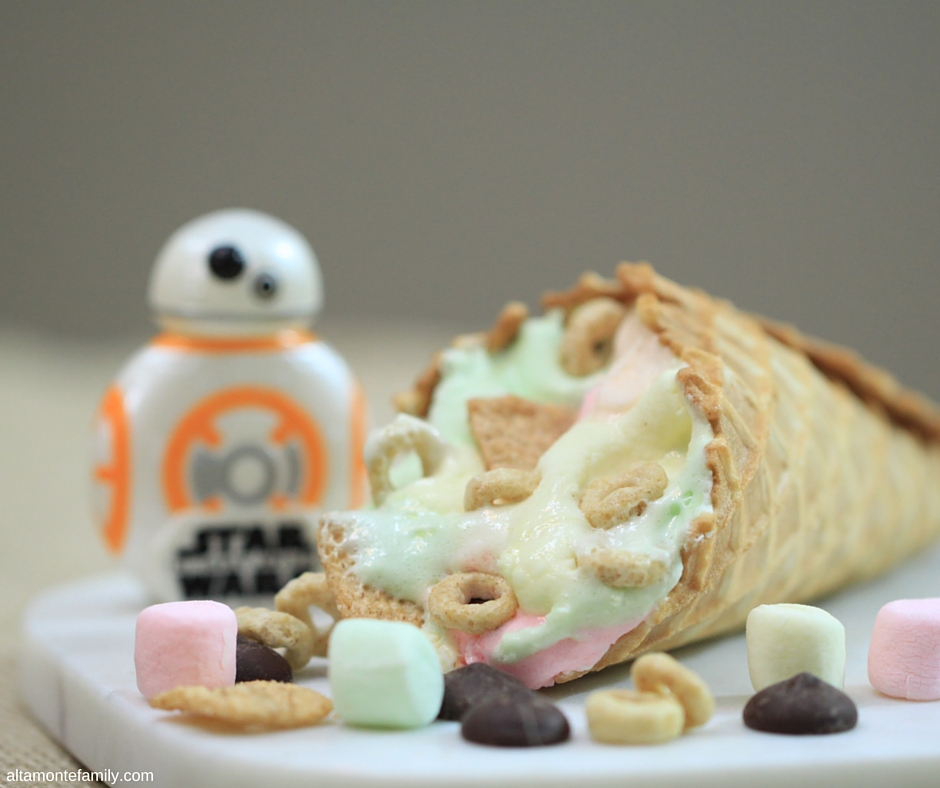 Star Wars Galactic Cone Recipe