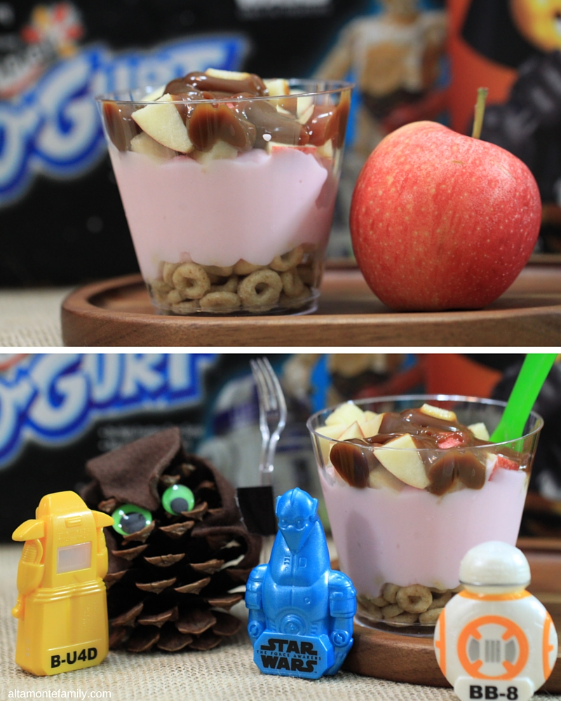 Star Wars Interplanetary Yogurt Parfait Recipe