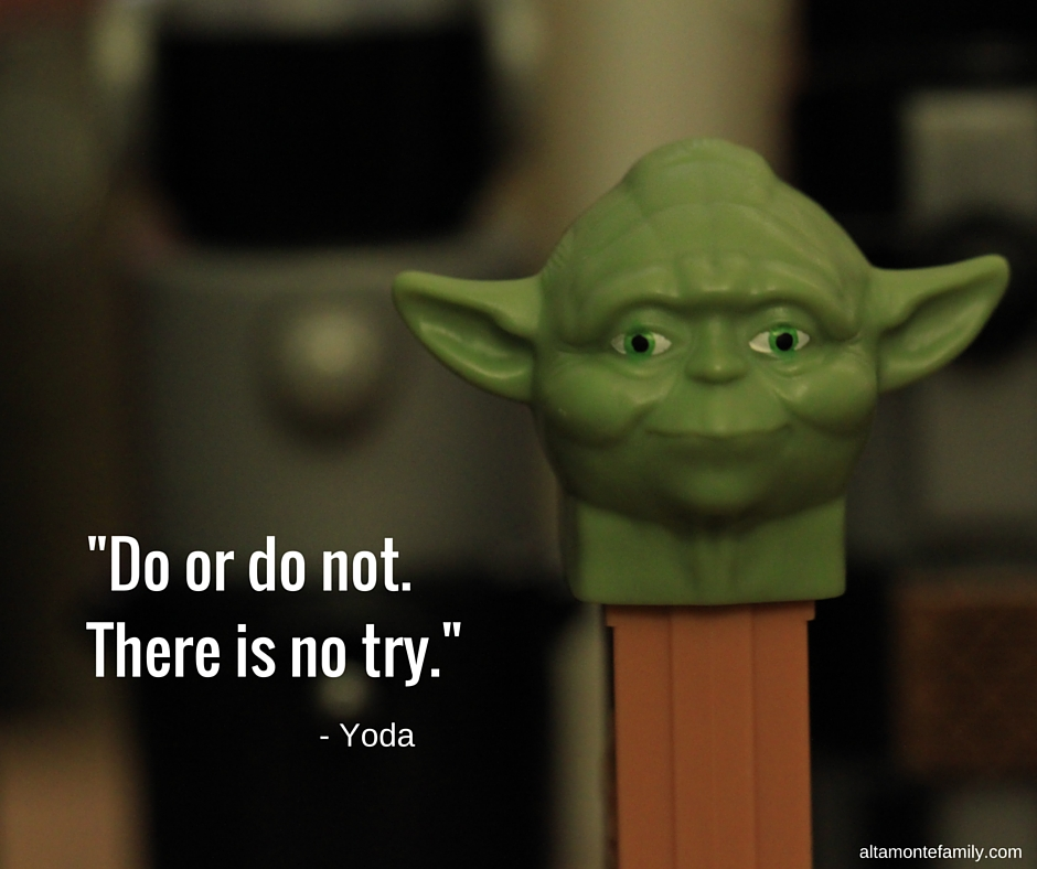 Star Wars Yoda Quote