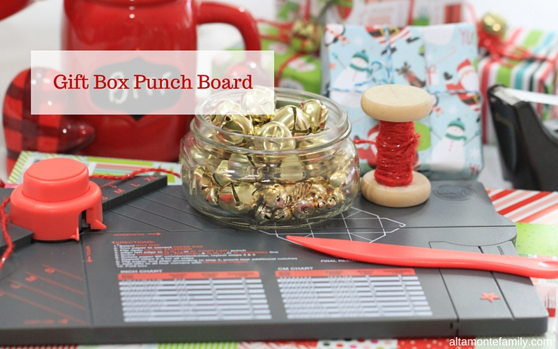 Giftwrapping with We R Memory Keepers Gift Box Punch Board