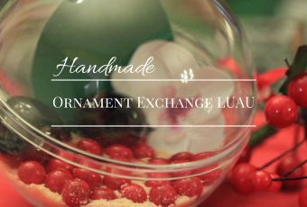Handmade Ornament Exchange Luau + Lilikoi Vinaigrette Recipe