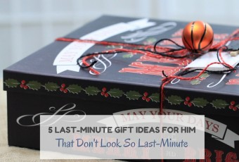 5 Last-Minute Gift Ideas For Him That Don't Look So Last-Minute