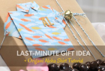 Last-Minute Gift Ideas + Origami Aloha Shirt Tutorial