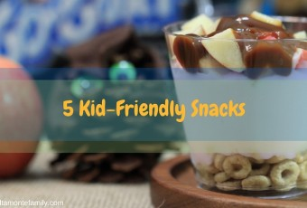 5 Easy Snacks To Make With Kids