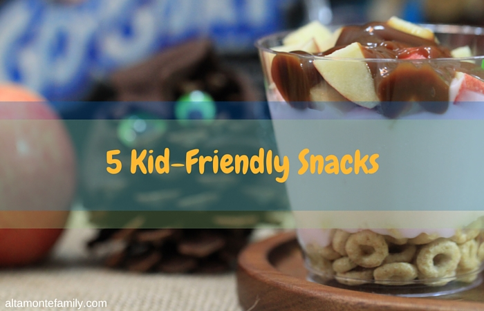 5 Easy Kid Friendly Snacks