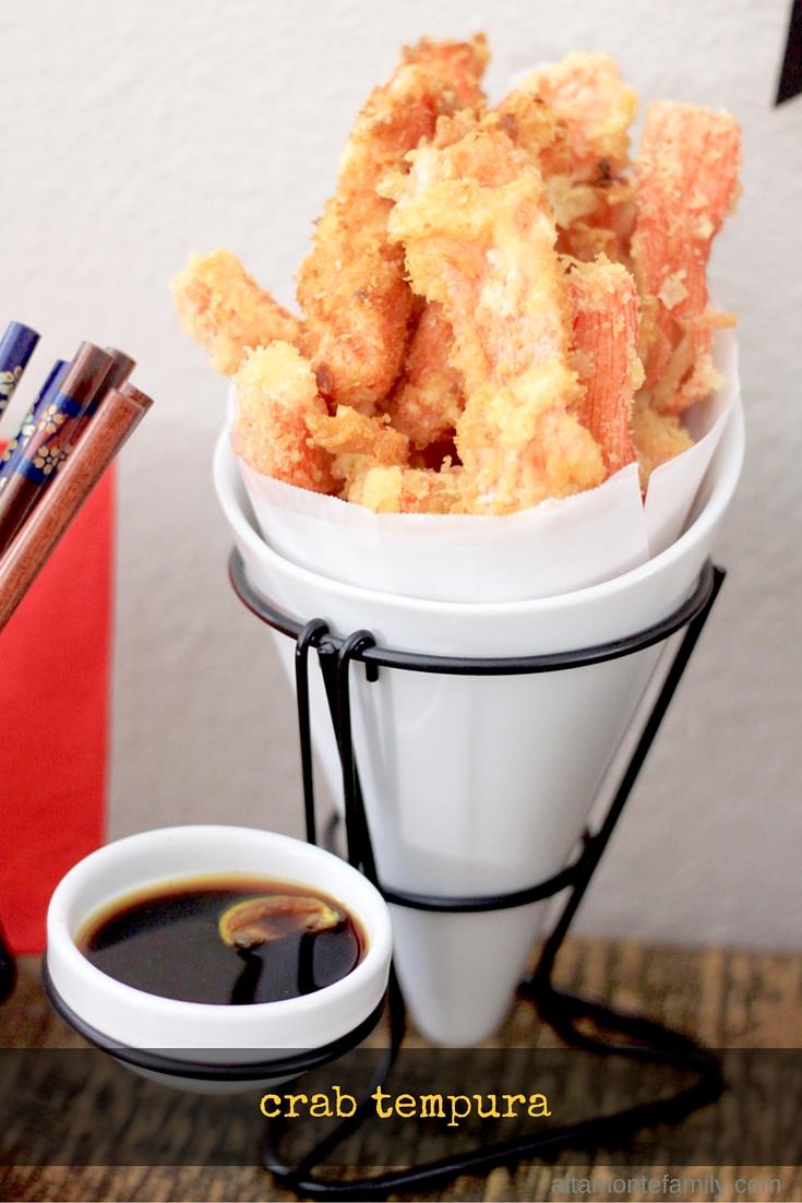 Crab Tempura Japanese Appetizer